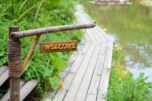 Welcome path